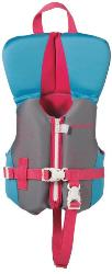 Absolute outdoor flexback neoprene child vests